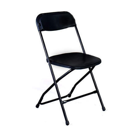 Chair samsonite folding black products classic party rentals